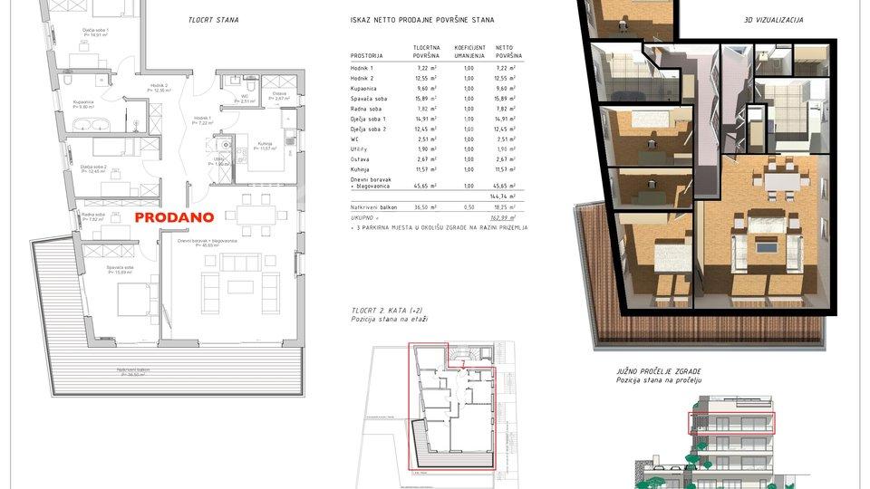Apartment, 98 m2, For Sale, Rijeka - Pećine
