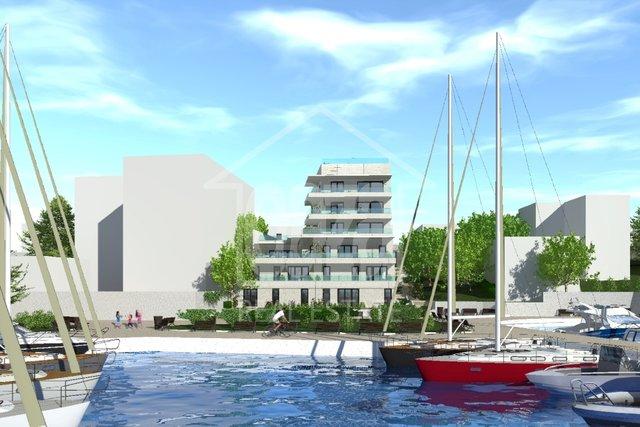 Luksuzna novogradnja - pametna zgrada na Pećinama, prvi red do mora - u izgradnji