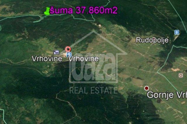 Land, 37860 m2, For Sale, Otočac